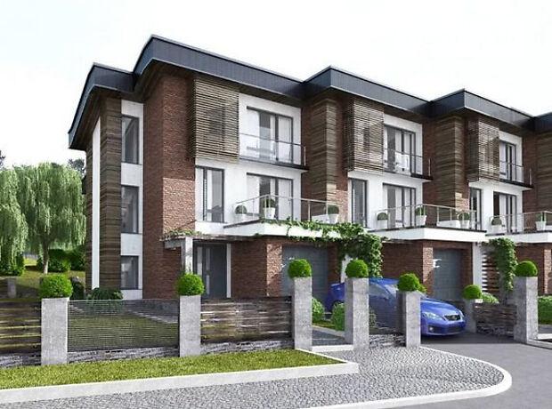 трехэтажный дом с террасой, 170 кв. м, кирпич. Продажа в Биле (Тернопольская обл.) фото 1