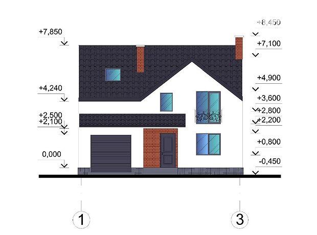 двухэтажный дом с террасой, 130 кв. м, кирпич. Продажа в Тернополе район Кутковцы фото 1