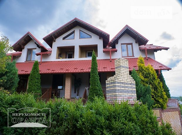 двухэтажный дом с камином, 228 кв. м, кирпич. Продажа в Петрикове (Тернопольская обл.) фото 1
