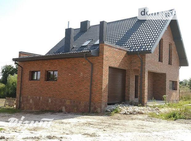 двухэтажный дом с гаражом, 200 кв. м, кирпич. Продажа в Петрикове (Тернопольская обл.) фото 1