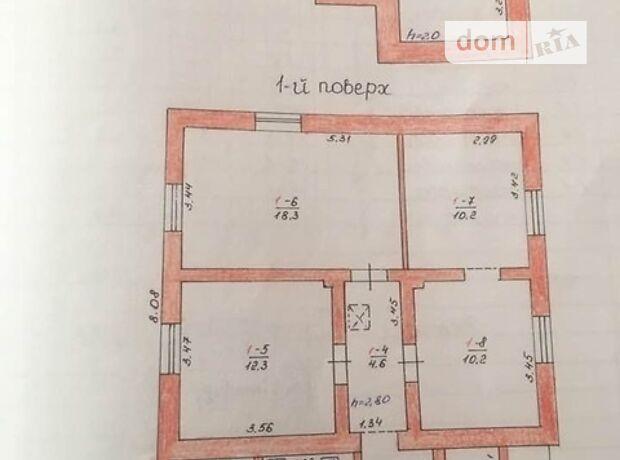 одноэтажный дом с верандой, 80 кв. м, кирпич. Продажа в Тернополе район Старый парк фото 3