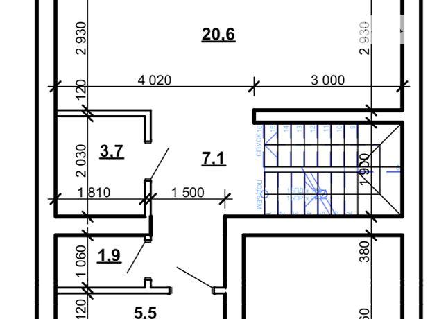 трехэтажный дом, 180 кв. м, кирпич. Продажа в Тернополе район Старый парк фото 1