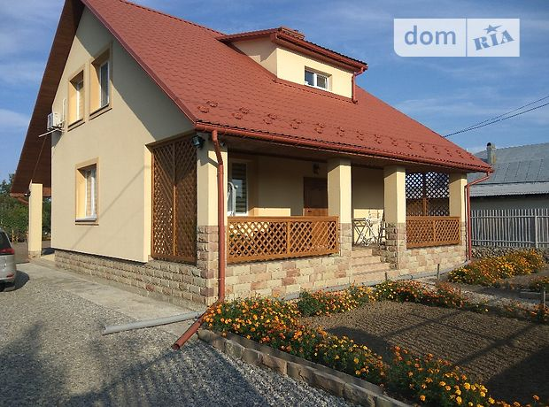 двухэтажный дом с камином, 180 кв. м, кирпич. Продажа в Великиких Бирок (Тернопольская обл.) фото 1