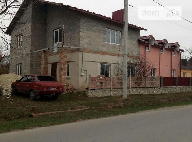 двухэтажный дом с балконом, 160 кв. м, шлакоблок. Продажа в Великиких Бирок (Тернопольская обл.) фото 1