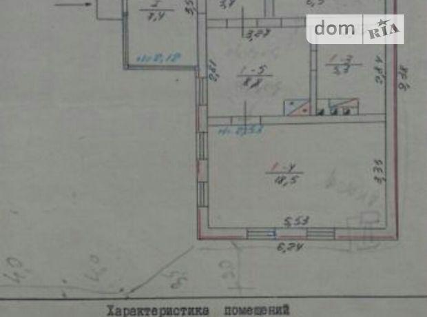 одноповерховий будинок, 43 кв. м, цегла. Продаж в Рудці (Дніпропетровська обл.) фото 1