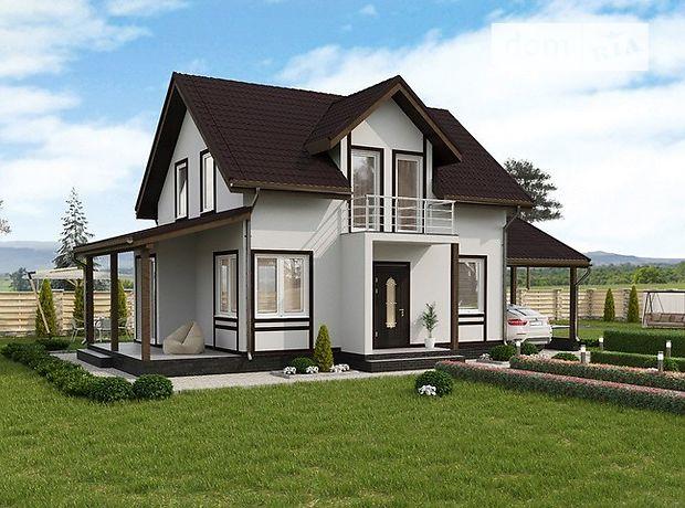 двухэтажный дом с террасой, 143.79 кв. м, пенобетон. Продажа в Ужгороде район Садовый фото 1