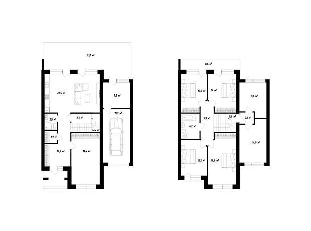 двухэтажный дом, 207 кв. м, монолитно-каркасный. Продажа в Сторожнице (Закарпатская обл.) фото 1