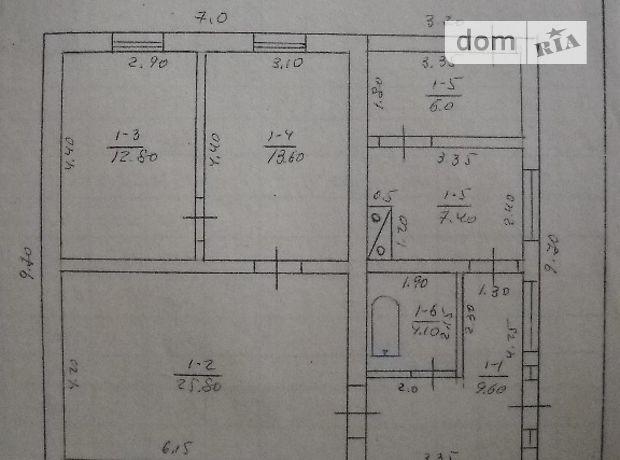 одноэтажный дом с садом, 93 кв. м, кирпич. Продажа в Шамраево (Кировоградская обл.) фото 1