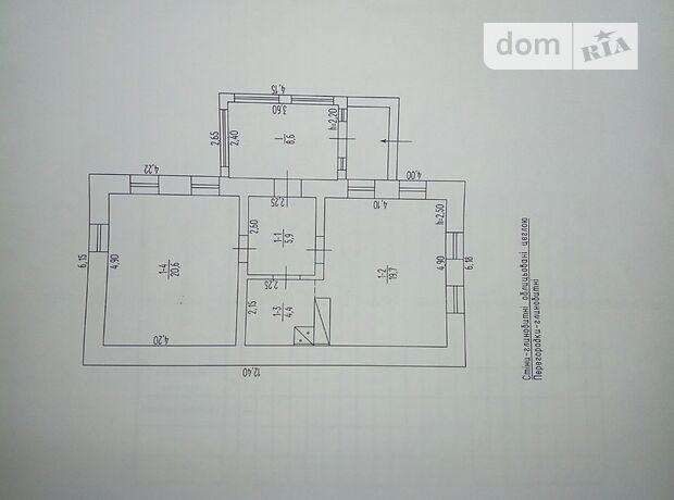 одноэтажный дом, 59.2 кв. м, кирпич. Продажа в Кочержинцах (Черкасская обл.) фото 1