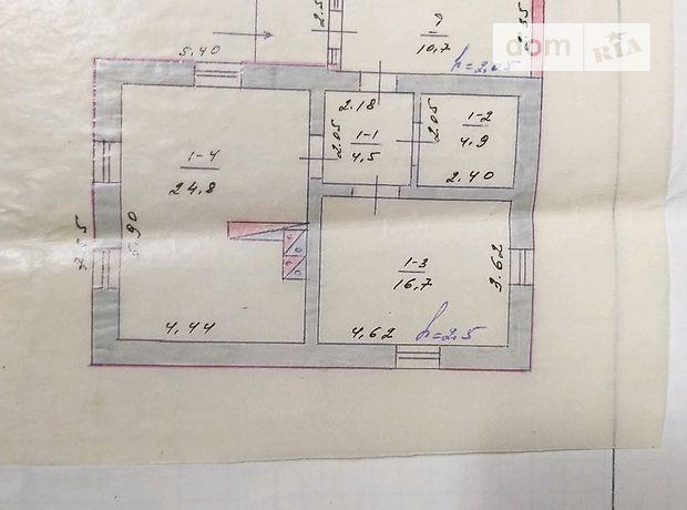 одноэтажный дом, 51 кв. м, глинобитный. Продажа в Краснополке (Черкасская обл.) фото 1