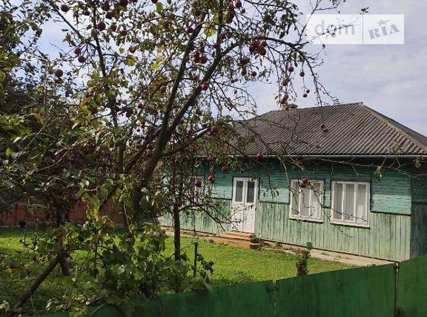 одноэтажный дом с садом, 75 кв. м, дерево и кирпич. Продажа в Бережнице (Черновицкая обл.) фото 1