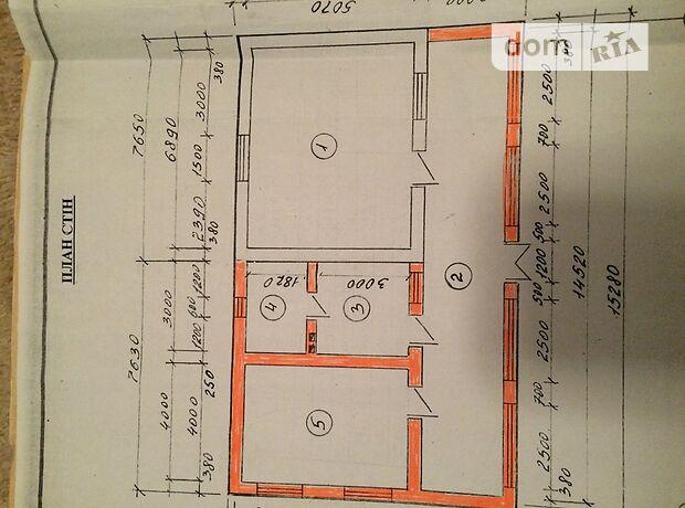 одноэтажный дом с черновой отделкой, 95 кв. м, кирпич. Продажа в Черногузах (Черновицкая обл.) фото 1
