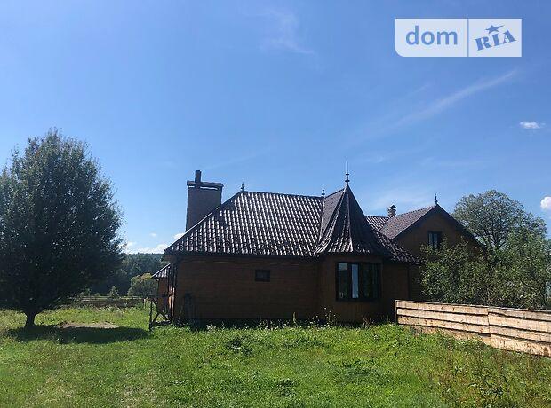 двухэтажный дом с камином, 280 кв. м, дерево и кирпич. Продажа в Мигове (Черновицкая обл.) фото 1