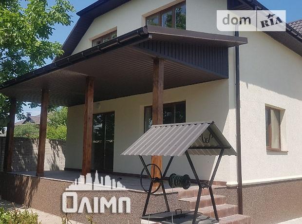 двоповерховий будинок з терасою, 200 кв. м, газобетон. Продаж в Пирогові (Вінницька обл.) фото 1