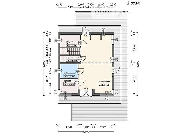 двухэтажный дом, 228.43 кв. м, пеноблок. Продажа в Виноградове район Виноградов фото 1