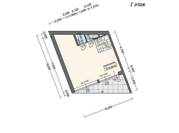 двухэтажный дом, 88 кв. м, пеноблок. Продажа в Виноградове район Виноградов фото 1