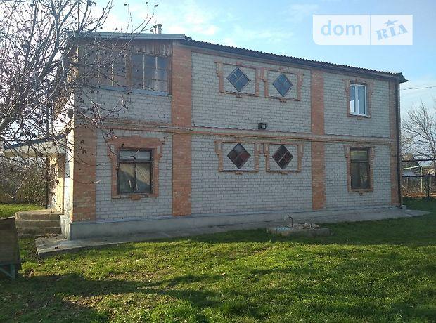 двухэтажный дом с балконом, 215 кв. м, кирпич. Продажа в Новогупаловке (Запорожская обл.) фото 1