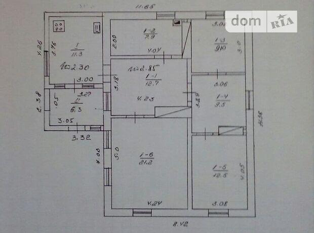 одноэтажный дом с мебелью, 90.5 кв. м, кирпич. Продажа в Володарке район Володарка фото 1