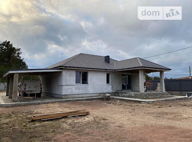 одноэтажный дом с террасой, 100 кв. м, пенобетон. Продажа в Хотяновке (Киевская обл.) фото 1