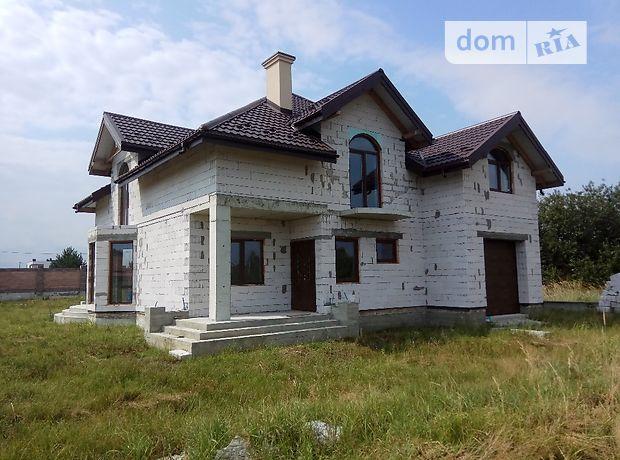 двухэтажный дом с террасой, 220 кв. м, газобетон. Продажа в Борках (Львовская обл.) фото 1