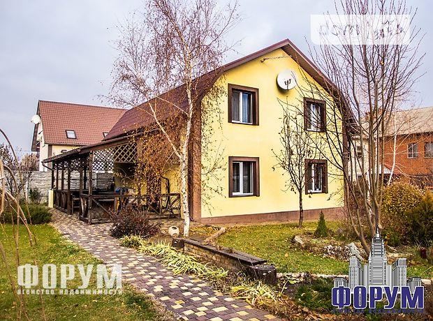 двухэтажный дом с садом, 125.7 кв. м, газобетон. Продажа в Запорожье район Бородинский фото 1