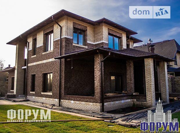 двухэтажный дом с камином, 160 кв. м, газобетон. Продажа в Запорожье район Бородинский фото 1