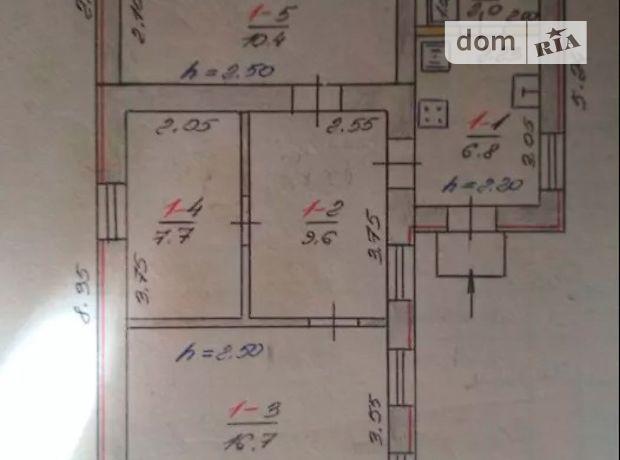 одноэтажный дом, 60 кв. м, кирпич. Продажа в Запорожье район Космос фото 1