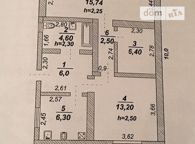 одноэтажный дом с гаражом, 70 кв. м, кирпич. Продажа в Запорожье район Космос фото 1