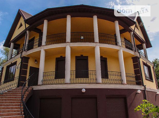 трехэтажный дом с садом, 298 кв. м, пенобетон. Продажа в Нижней Хортице (Запорожская обл.) фото 1