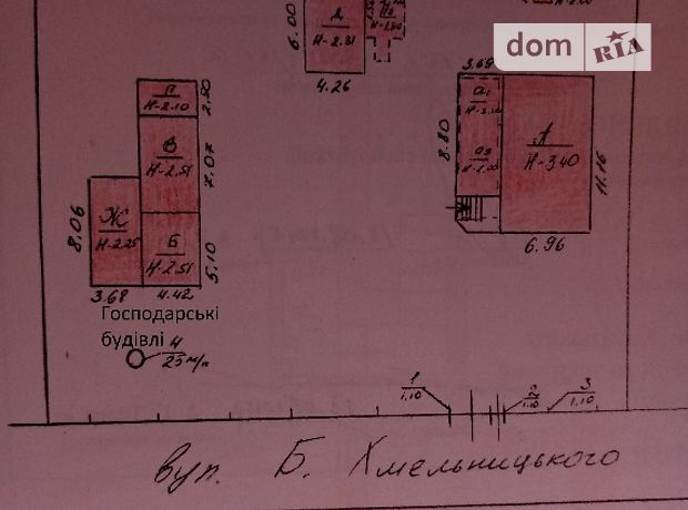 Продаж будинку, 127м², Тернопільська, Збараж, c.Доброводи, вул Б Хмелльницького, буд. 8