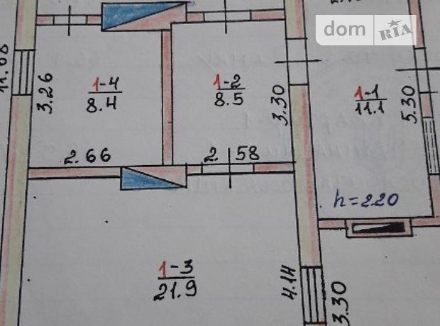 одноэтажный дом, 70 кв. м, дерево и кирпич. Продажа в Здолбунове фото 1