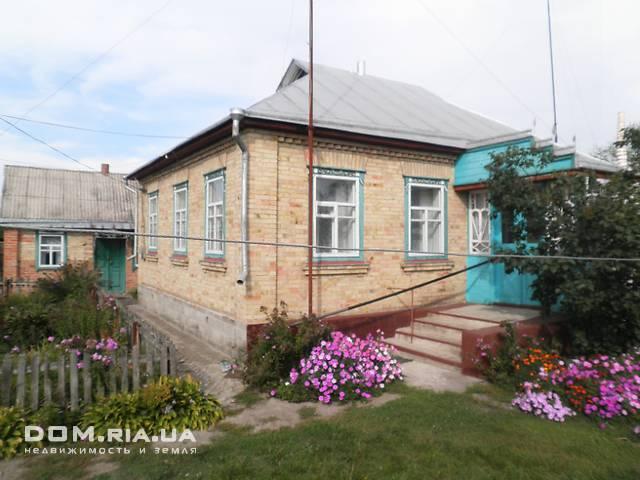одноэтажный дом с камином, 100 кв. м, дерево и кирпич. Продажа в Красном (Киевская обл.) фото 1