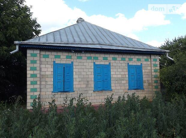 одноэтажный дом с садом, 55 кв. м, кирпич саманный. Продажа в Деньгах (Черкасская обл.) фото 1