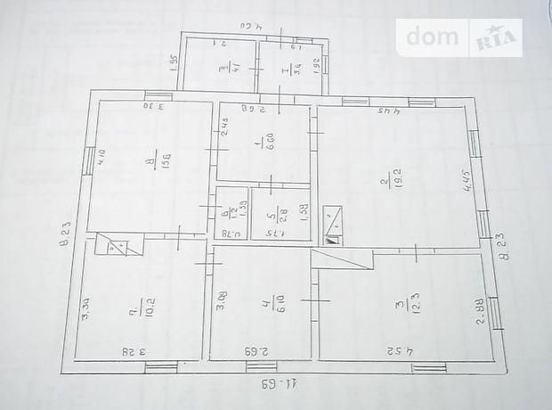 одноэтажный дом с ремонтом, 81 кв. м, кирпич. Продажа в Золотоноше район Золотоноша фото 1