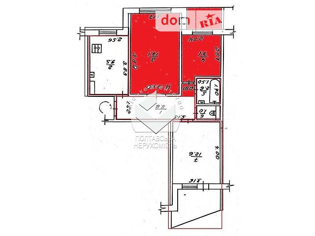 Продажа комнаты, Полтава, р‑н.Левада