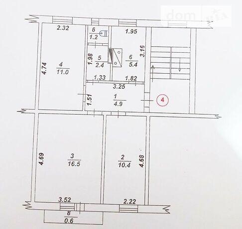 Продажа трехкомнатной квартиры в Александрии, на Димитрова район Димитрово фото 1