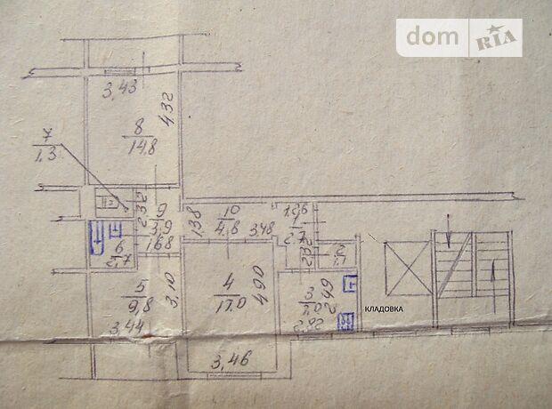 Продажа трехкомнатной квартиры в Бердянске, на Химиков 3, район Азмол фото 1