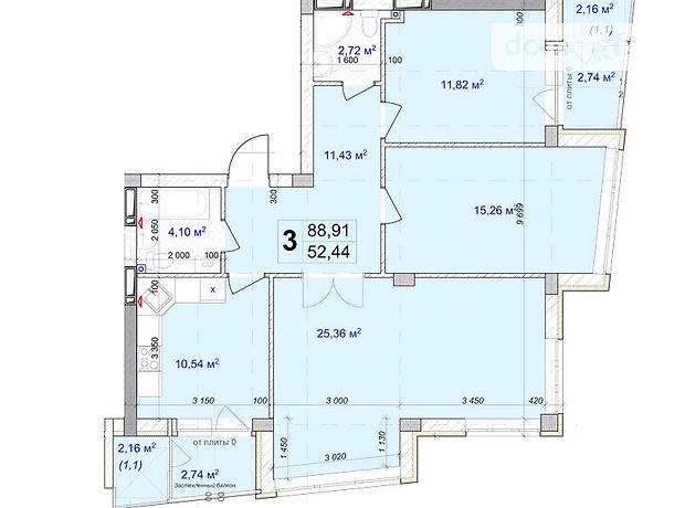 Продажа квартиры, 3 ком., Киевская, Бровары, Киевская, дом 261