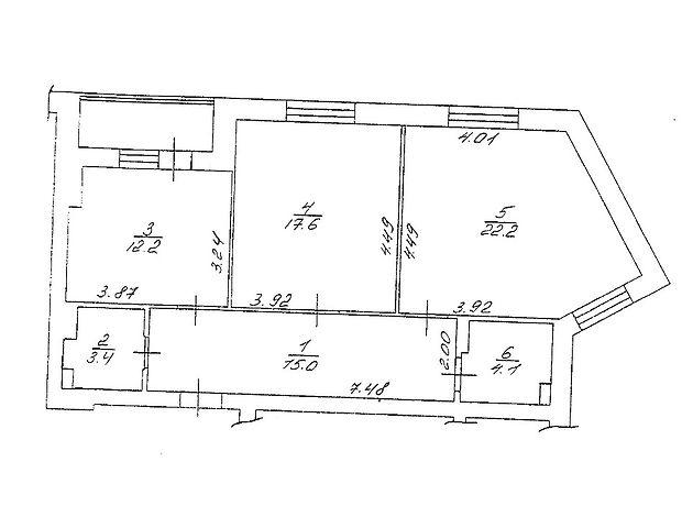 Продажа квартиры, 1 ком., Киевская, Бровары, Короленка, дом 74