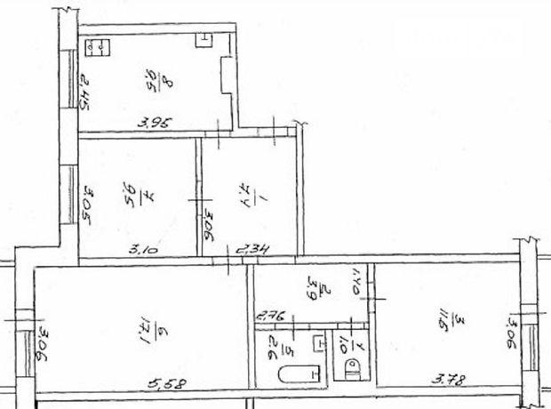 Продаж квартири, 3 кім., Черкаси, р‑н.Митница, ГероївДніпра вулиця