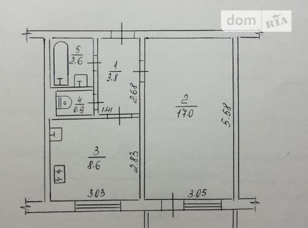 Продажа квартиры, 1 ком., Черкассы, р‑н.Мытница, Героев Сталинграда улица, дом 22