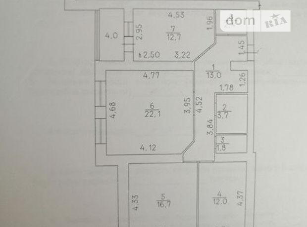 Продажа трехкомнатной квартиры в Черкассах, на ул. Героев Днепра район Мытница-речпорт фото 1