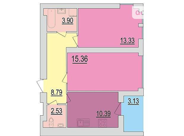 Продажа квартиры, 2 ком., Черкассы, р‑н.Мытница-речпорт
