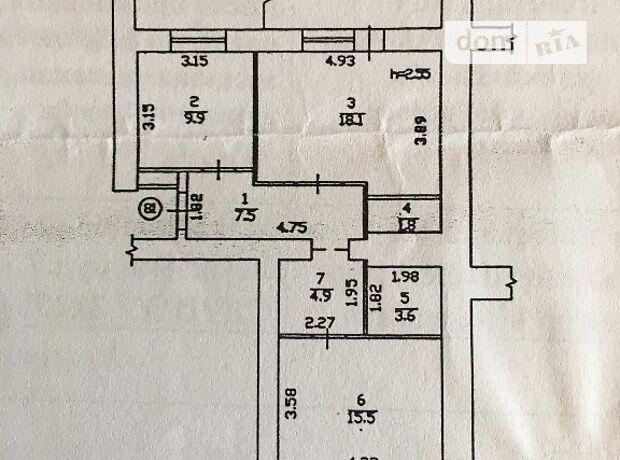 Продажа двухкомнатной квартиры в Черкассах, на ул. Сержанта Жужомы 3 район Мытница фото 1