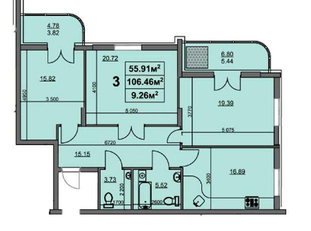 Продажа трехкомнатной квартиры в Черкассах, на ул. Героев Сталинграда район Приднепровский фото 1
