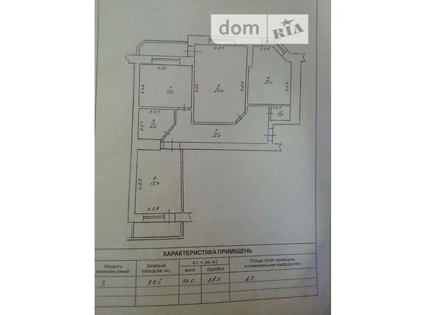 Продажа квартиры, 3 ком., Черкассы, р‑н.Седова, Гоголя улица, дом 453