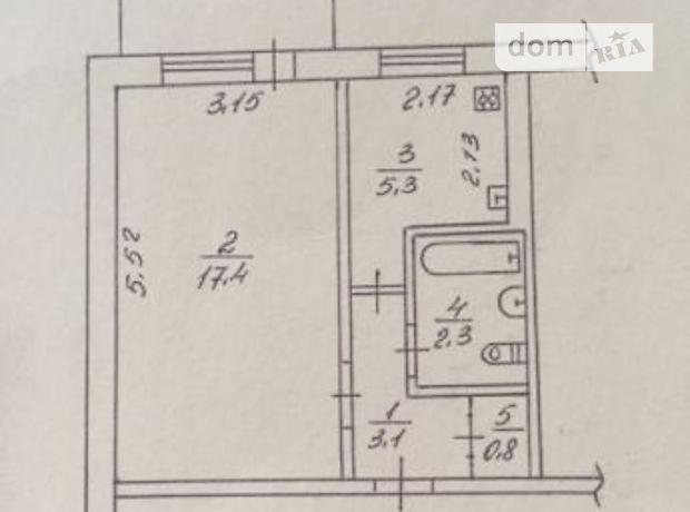 Продажа квартиры, 1 ком., Черкассы, р‑н.Седова, Рождественская улица