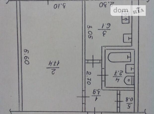 Продажа однокомнатной квартиры в Черкассах, на ул. Смелянская 117, фото 1