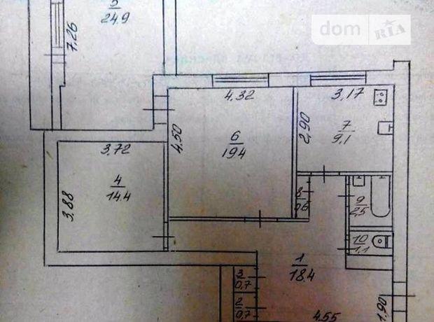 Продажа квартиры, 3 ком., Черкассы, р‑н.Центр, Пастеровская улица