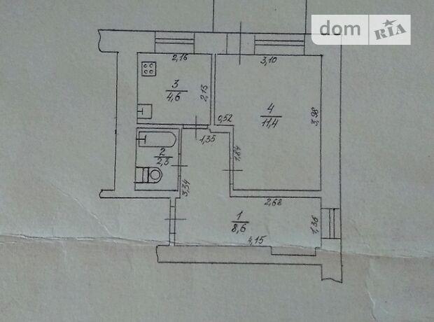 Продажа однокомнатной квартиры в Черкассах, на ул. 30-летия Победы 32, район ЮЗР фото 1